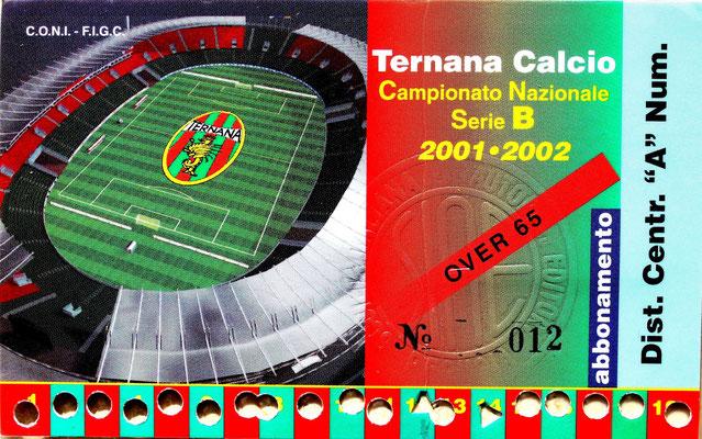 2001-02. Abbonamento (Brusi)