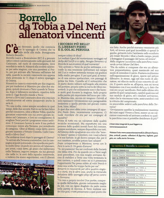 2017-04-29. DAJE MO'! Il mio articolo dedicato a Roberto Borrello. La versione integrale dell'intervista si può leggere al seguente link: http://www.ternananews.it/focus/borello-da-tobia-a-del-neri-allenatori-vincenti-33221