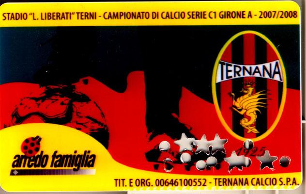 2007-08. Abbonamento (Marco Barcarotti)