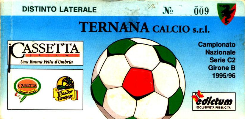 1995-96. Abbonamento (Perego Leonardo)