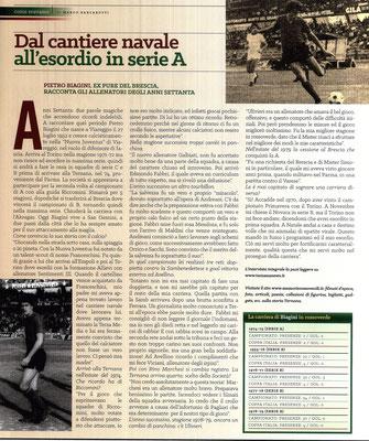 2016-12-03. DAJE MO'! Il mio articolo dedicato a Pietro Biagini. La versione integrale dell'intervista si può leggere al seguente link:  http://www.ternananews.it/focus/dal-cantiere-navale-allesordio-in-serie-a-29828