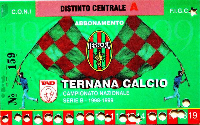 1998-99. Abbonamento (Brusi)