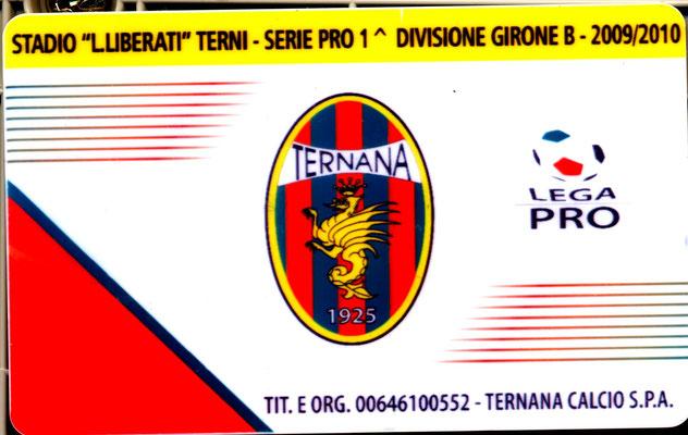 2009-10. Abbonamento (Marco Barcarotti)