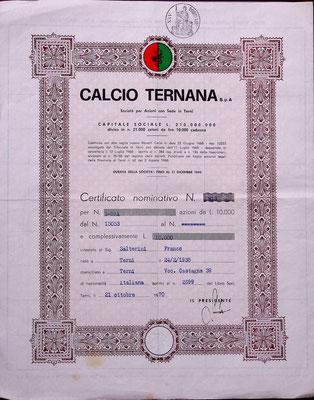1970-10-21. Azione Ternana Calcio S.p.A. (15053, di Salterini Franco)