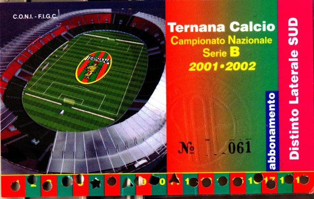 2001-02. Abbonamento (Marco Barcarotti)