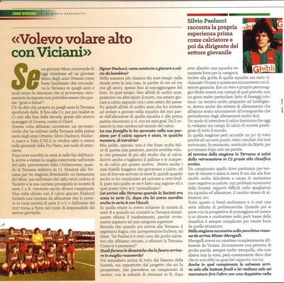 2019-01-26. DAJE MO'! Il mio articolo dedicato a Silvio Paolucci (Parte 1). La versione integrale dell'intervista si può leggere al seguente link: http: http://www.ternananews.it/focus/incontro-con-un-ex-rossoverde-silvio-paolucci-46135