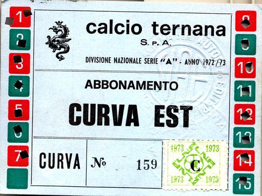1972-73. Abbonamento (De Merulis)