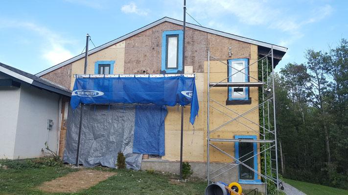 Building envelop repairs