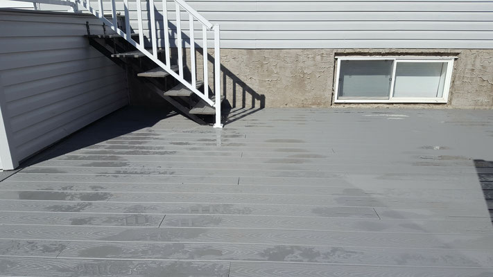 Deck replacement composite decking