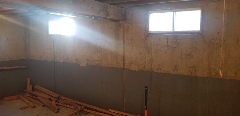 Basement development renovation