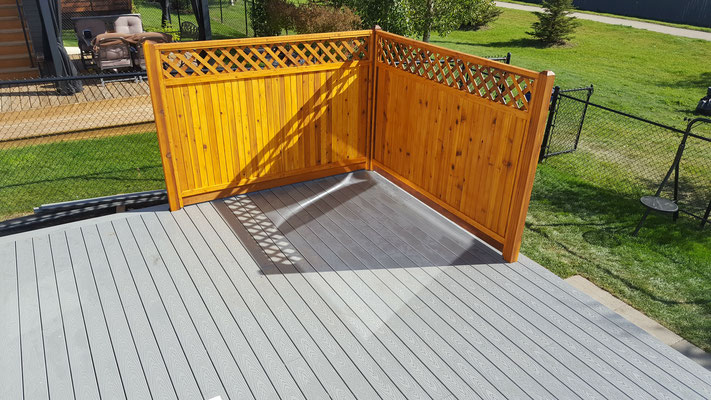 Deck replacement composite decking cedar