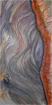 Eleganz - Rottanne - Acryl auf Leinwand 30x60 cm  -  CHF 1500