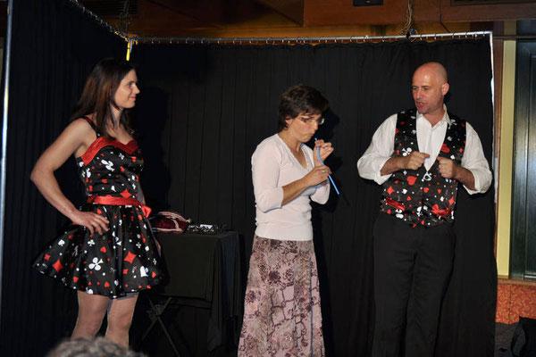 Zaubershow mit Die Zauberin Sabrina