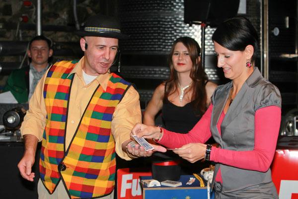 Zaubershow mit Claus Fox