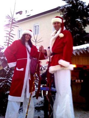 Weihnachtsmarkt Wolfsberg Stelzengeher