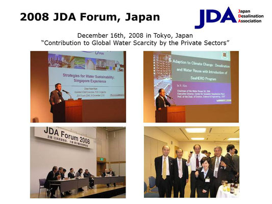 2008 JDA Forum, Japan