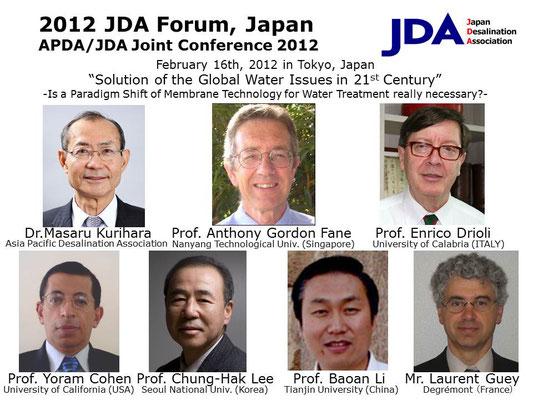 2012 JDA Forum, Japan