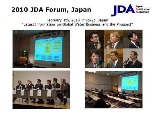 2010 JDA Forum, Japan