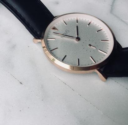 NOVS Uhr - Armbanduhr - Damen - NOVA rosé black - schwarz