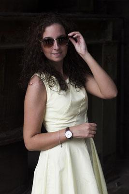 NOVS Uhr - Armbanduhr - Damen - NOVA rosé black - schwarz - Sonnenbrillen - VACATION
