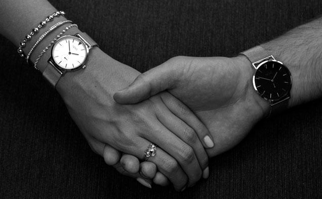 NOVS Uhr - Armbanduhr - Herren - Damen - NOVO - NOVA silver mesh - silber