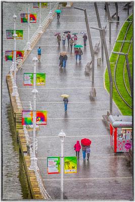 Bilbao sous la pluie