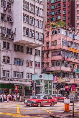 Kowloon (九龍). Angle de Nathan Road et Waterloo Road.