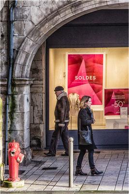 Soldes - La Rochelle le 19 janvier 2016
