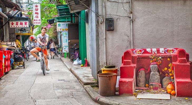 Hong Kong, île de Lantau (大嶼山). Village de pêcheurs Tai O (大澳).