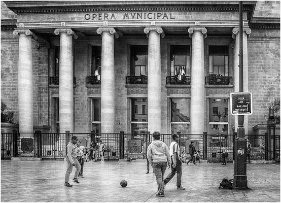 Foot à l'opéra