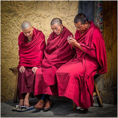 Trois Lamas - Shangri-La: monastère Song Zan Lin Si Mai 2014