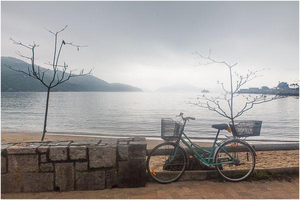 Hong Kong, île de Lantau (大嶼山). Plage de Silvermine.