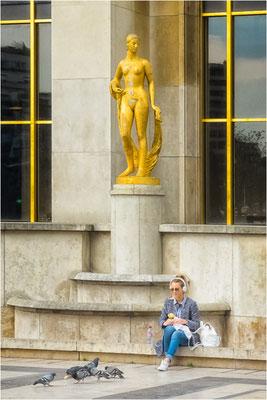 Place du Trocadéro 1er avril