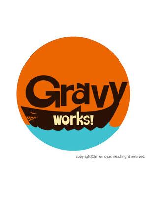 GRAVY WORKS レーベルロゴ