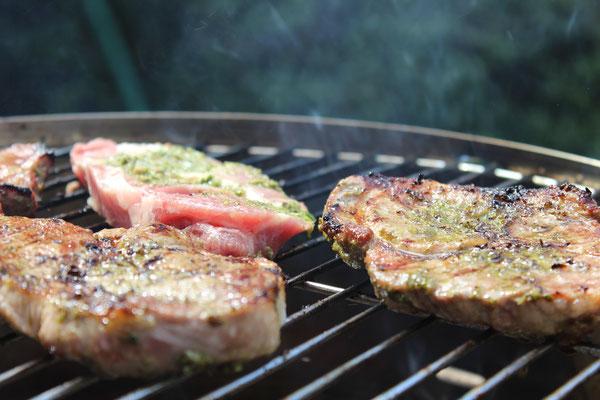 Steak von Schwein