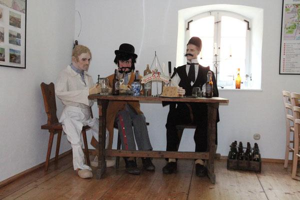Die drei Trinker Foto  Ralf Hiller