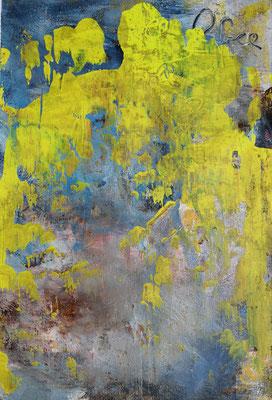 Free and free II, 40 x 60 cm, Acryl auf Bütten Papier