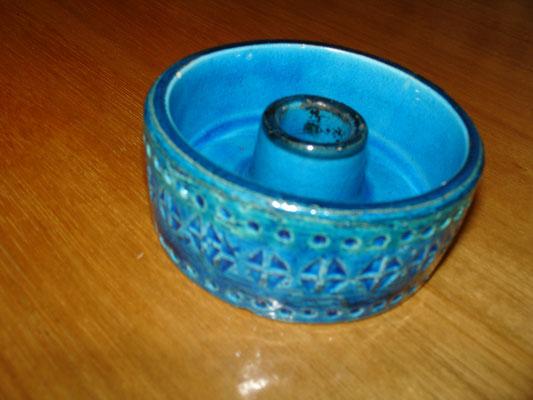 Bougeoir de table en céramique vers 1950 Aldo LONDI pour Bitossi