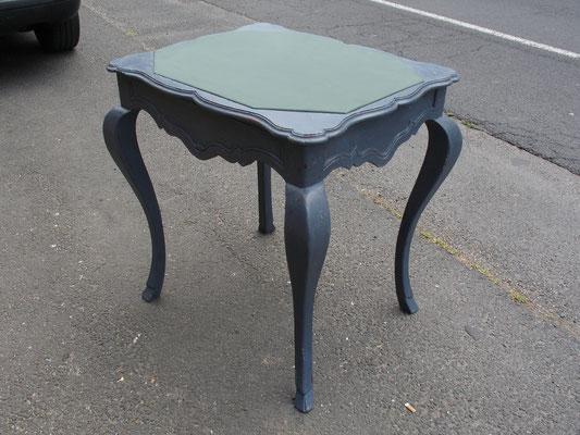 Table de Changeur en chêne de style régence signée H.HENRI 1900