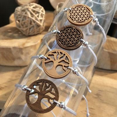 arbre de vie et fleur de vie bijoux bracelets