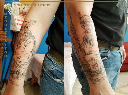 Mon père ce héros - Méduse Tattoo en Belgique