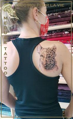 Avec moi pour la vie - Méduse Tattoo en Belgique