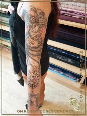 On renaît de ses cendres - Méduse Tattoo en Belgique