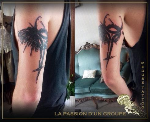 Tatouage symbolique  - Méduse Tattoo en Belgique