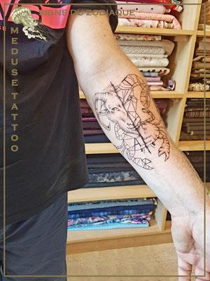 Signe du zodiaque - Méduse Tattoo en Belgique