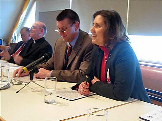 Bei der Bischofskonferenz 2006 am Sonntagberg - Studientag zu Ehe und Familie