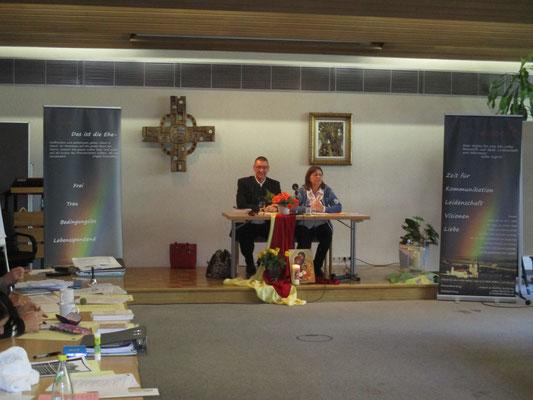 Vortrag im Franziskushaus-Altötting zur Ehevorbereitung bei der Salzburger Akademie für Ehe und Familie