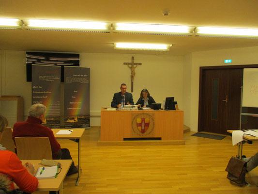 Vortrag über Ehevorbereitung an der Phil.-Theol. Hochschule Heiligenkreuz beim Studienlehrgang Theologie des Leibes
