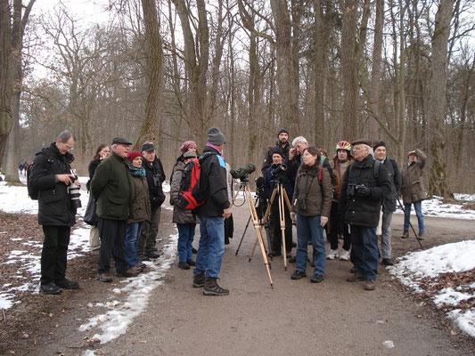 Exkursion in Nymphenburg (Foto: Pit Brützel)