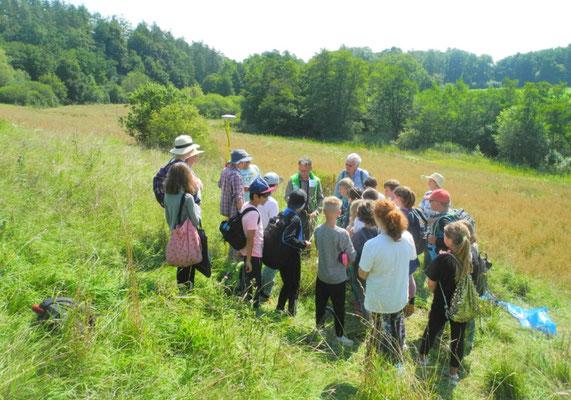 Umweltbildung - Schulstunde in der Natur (Foto: LBV Starnberg)